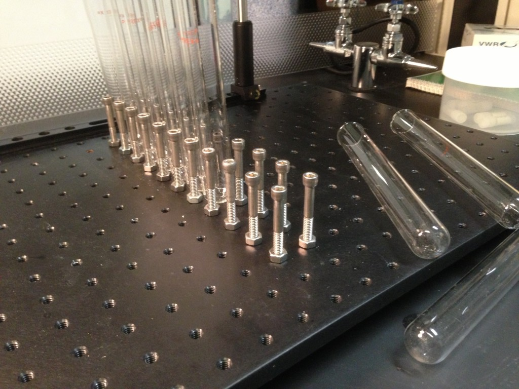 Test tube holder fr 25mm diameter tubes.